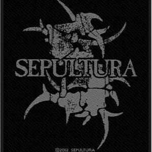 Sepultura Logo Kangasmerkki 100% Polyesteria
