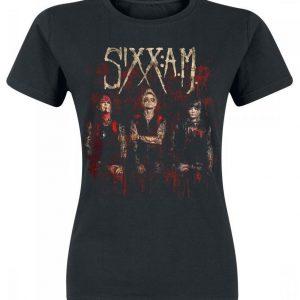 Sixx: A.M. Band Photo T-paita