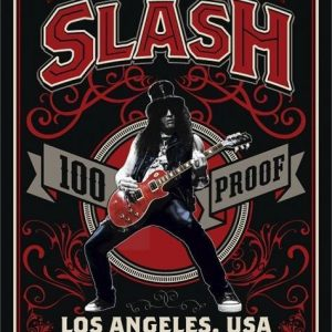 Slash 100% Proof Los Angeles Juliste Paperia