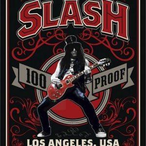 Slash 100% Proof Los Angeles Juliste Paperia