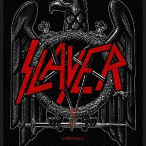 Slayer Black Eagle Kangasmerkki 100% Polyesteria