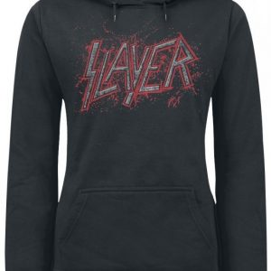 Slayer Dripping Black Eagle Naisten Huppari