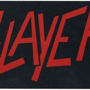 Slayer Logo Aamiaislauta Melamiinia / Litteää Laminaattia