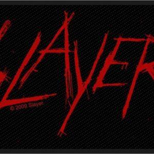 Slayer Logo Kangasmerkki 100% Polyesteria