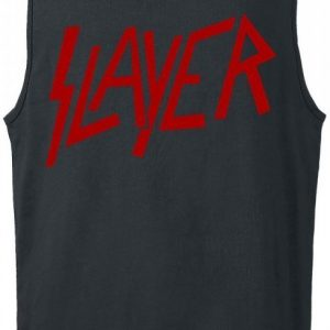 Slayer Logo Tank-Toppi