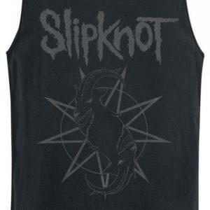 Slipknot Goat Star Logo Tank-Toppi
