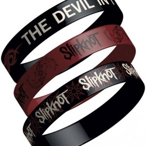 Slipknot Logo Trio Rannekorusetti