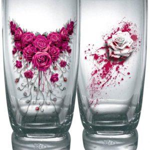 Spiral Blood Rose Juomalasisetti