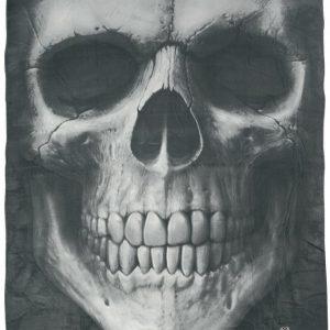 Spiral Solemn Skull Fleece-Peitto