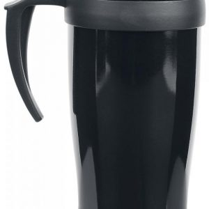 Stainless Mug With Handle Kahvimuki