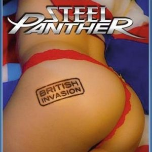 Steel Panther British Invasion Blu-Ray