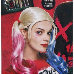 Suicide Squad Harley Quinn Peruukki