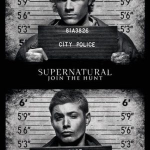 Supernatural Mug Shots Juliste