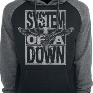 System Of A Down Stacked Eagle Huppari