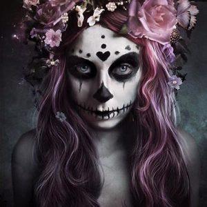 Tag Der Toten Dia De Muertos Juliste