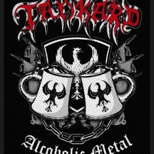 Tankard Alcoholic Metal Kangasmerkki 100% Polyesteria
