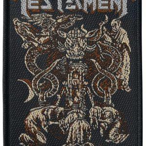 Testament Demonarchy Kangasmerkki 100% Polyesteria