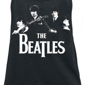 The Beatles Band Naisten Toppi