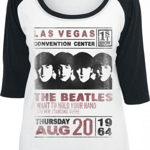 The Beatles Las Vegas Convention Pitkähihainen Paita
