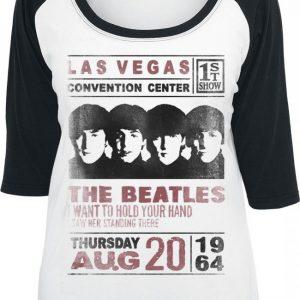 The Beatles Las Vegas Convention Pitkähihainen Paita