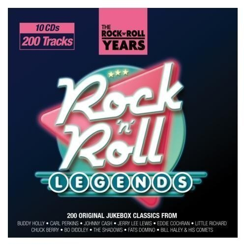 The Rock 'N' Roll Years - Rock 'N' Roll Legends (10CD)