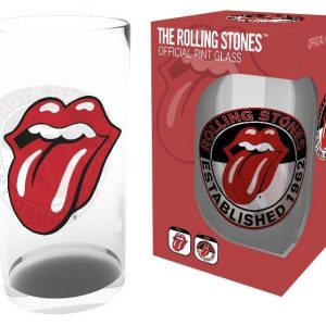 The Rolling Stones Tongue Oluttuoppi Lasia