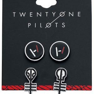 Twenty One Pilots Logo Korvakorusetti