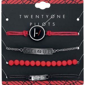 Twenty One Pilots Logo Rannekorusetti