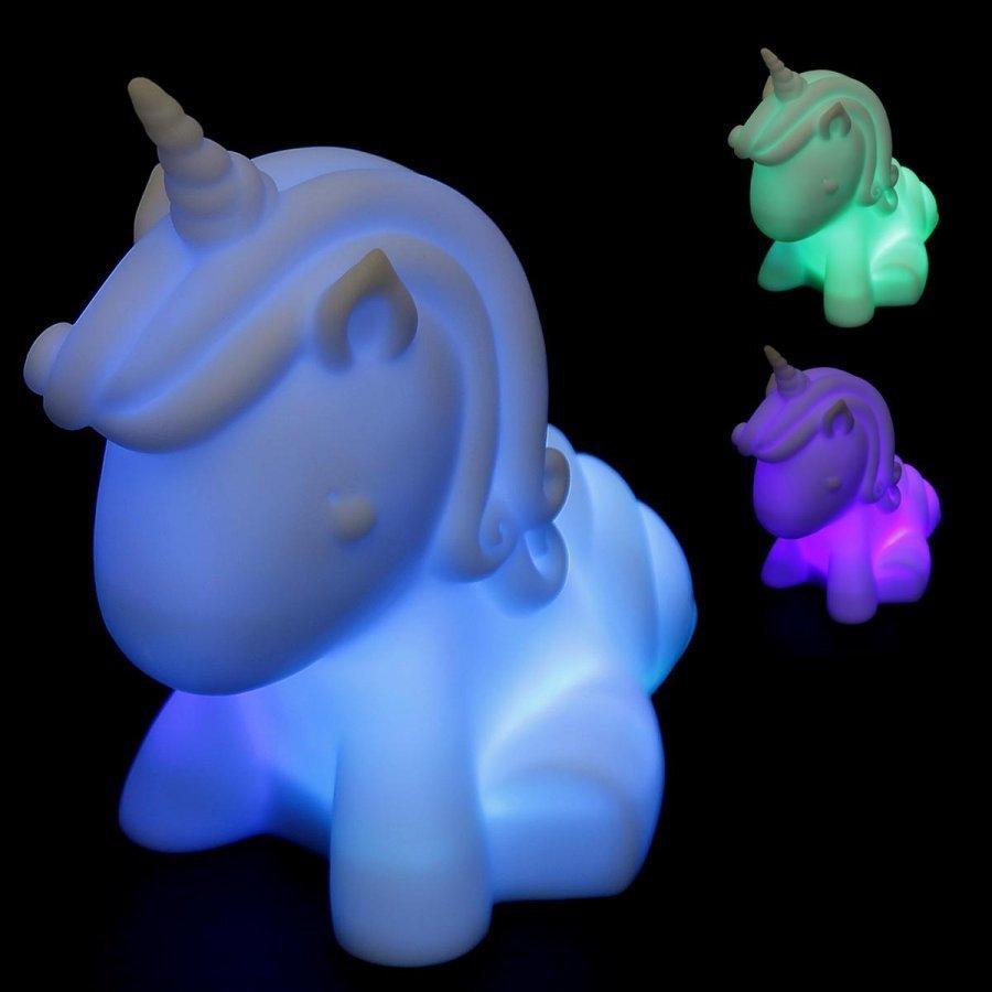 Unicorn Colour Changing Mood Light Lamppu