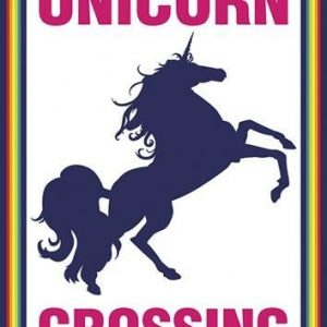 Unicorn Crossing Juliste