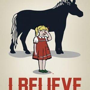 Unicorn I Believe Juliste