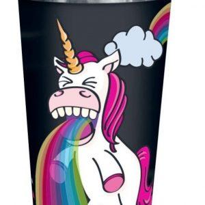 Unicorn Puking Unicorn Rainbow Kahvimuki