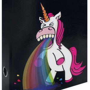 Unicorn Puking Unicorn Rainbow Kansio