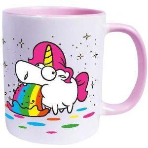 Unicorn Puking Unicorn Rainbow Muki