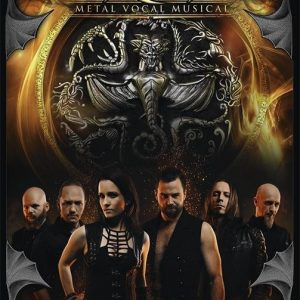 Van Canto Vocal Metal Musical Voices Of Fire Juliste Paperia