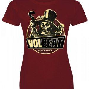 Volbeat Baron Samedi Naisten T-paita