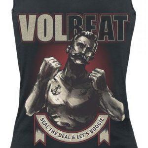 Volbeat Boxer Ribbon Naisten Toppi