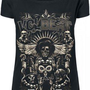 Volbeat Character Collage Naisten T-paita