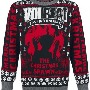 Volbeat Holiday Sweater 2016 Neulesvetari