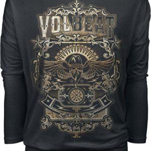 Volbeat Old Letters Pitkähihainen Paita