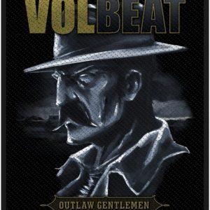 Volbeat Outlaw Gentlemen Kangasmerkki 100% Polyesteria
