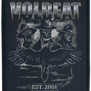 Volbeat Outlaw Raven Kangasmerkki 100% Polyesteria