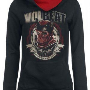 Volbeat Red King Naisten Huppari