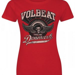 Volbeat Rise From Denmark T-paita