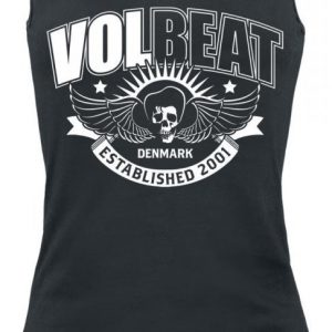 Volbeat Skullwing Ribbon Naisten Toppi