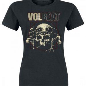 Volbeat Voodoo Skull Naisten T-paita