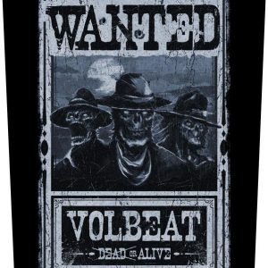 Volbeat Wanted Selkälippu 100% Polyesteria