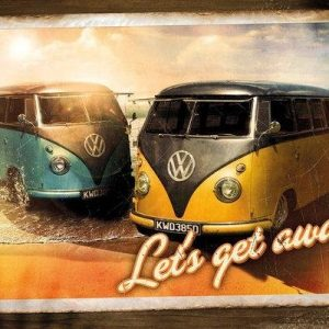 Vw Let's Get Away Juliste
