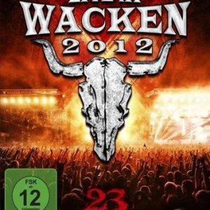 Wacken Live At Wacken 2012: 23 Years (Faster: Harder: Louder) DVD