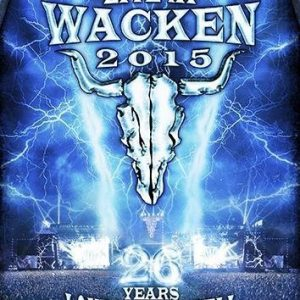 Wacken Live At Wacken 2015 25 Years Louder Than Hell Blu-Ray